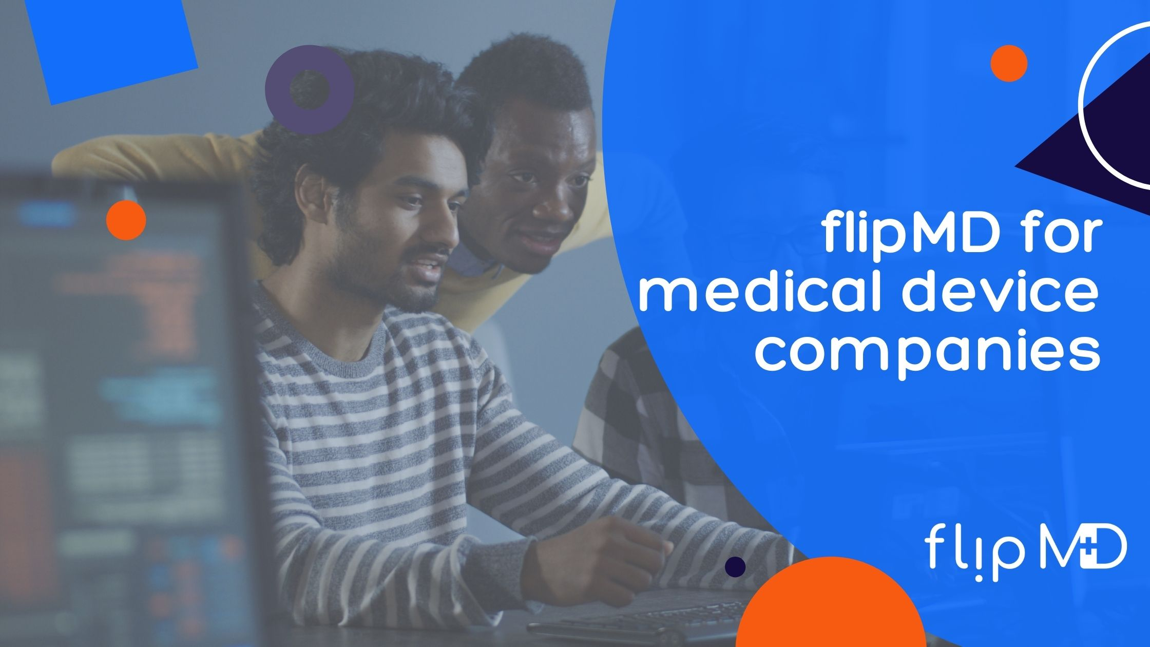 flipmd consultant works on medical device company job
